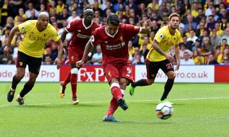 Roberto Firmino stands tall for Liverpool amid familiar defensive frailties | Sachin Nakrani