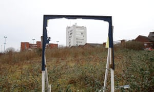 Brownfield land in Stoke-on-Trent