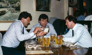 John Toshack, Terry Venables and Howard Kendall