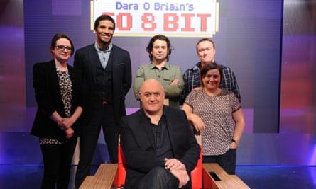 Dara O Briain's Go 8 Bit, this week starring Susan Calman and David James