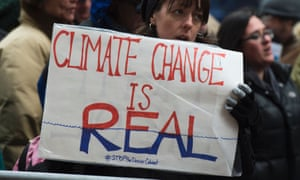 Climate activists in New York (Don Emmert/AFP/Getty Images)