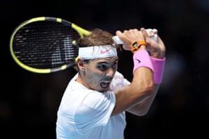 Nadal fights back.