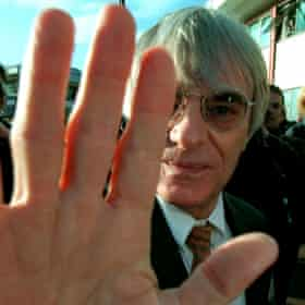Bernie Ecclestone in 1997