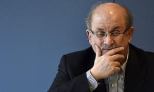 'Dickensian exuberance' … Salman Rushdie.