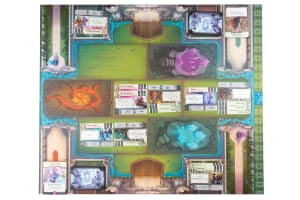 Crystal Clans combines the card-based battles of games like Magic: The Gathering with elements of board-based tactics.
