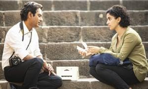 Nawazuddin Siddiqui and Sanya Malhotra in The Photograph.