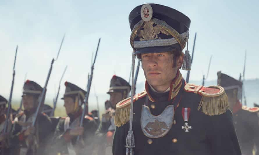 James Norton as  Prince Andrei in the BBC TV adaptation of War and Peace. Photographer: BBC/Robert Viglasky