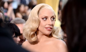 Lady Gaga attends the 88th Academy Awards in Hollywood, California.
