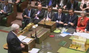 The Conservative frontbench watch McDonnell quote from Mao.