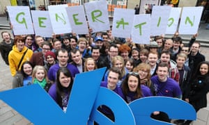 Generation Yes movement supporters