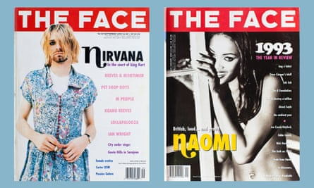 Two classic Face covers.