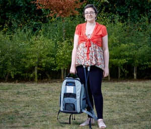 Rebecca Henderson, who has an artificial heart
