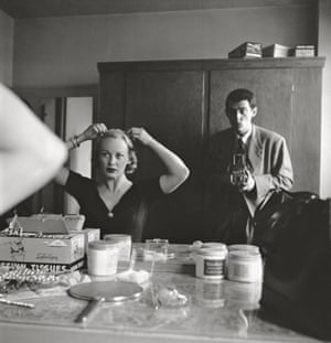 """Stanley Kubrick with Faye Emerson from """"Faye Emerson: Young Lady in a Hurry,"""" 1950"""