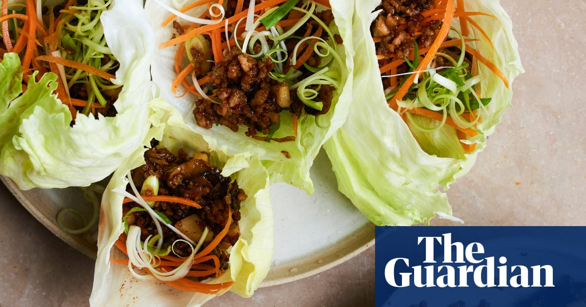 Fast fusion to share: Lara Lee's recipes for Chinese pork lettuce cups and prawn and noodle salad
