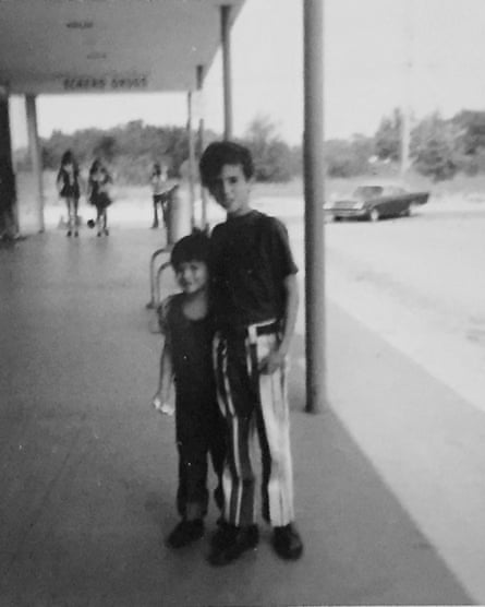 Seventies kids: the author (left) and his older brother Jon.