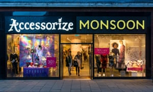 The proposed deal asks for rent cuts on about two-thirds of Monsoon Accessorize's 271 stores.