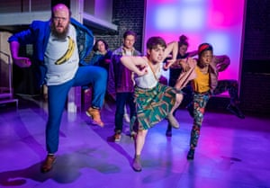 Riotous glee … Great Apes, adapted for the stage by Patrick Marmon.