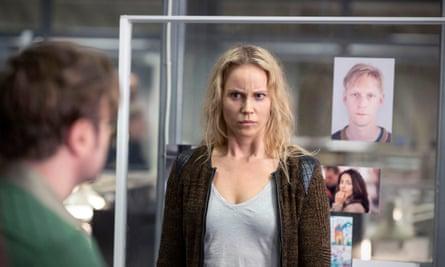 Detective Saga Norén, played by Sofia Helin.