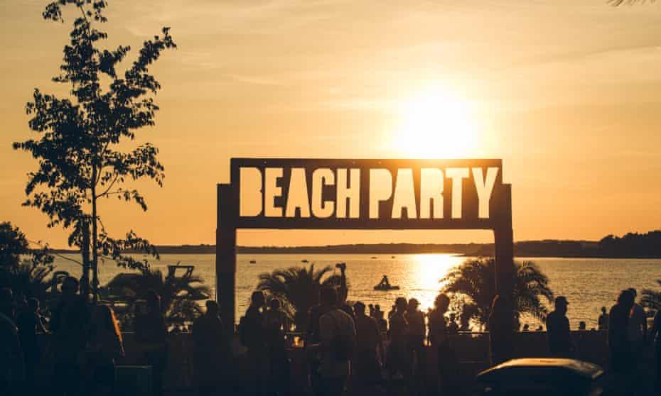 Life's a beach: Outlook Festival.