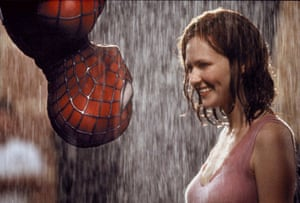 Tobey Maguire and Kirsten Dunst in 2002's Spider-Man