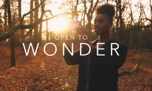 'Open to Wonder': still from a recruitment video for Warwick University.