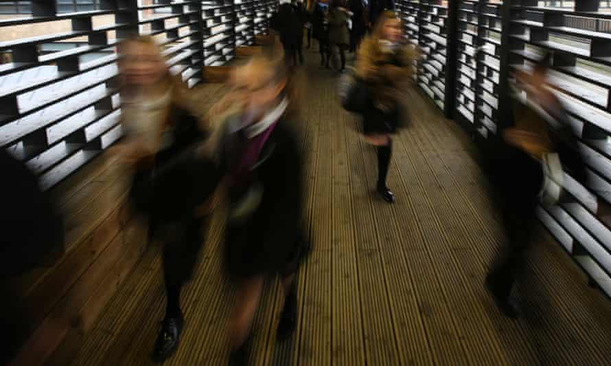 Children at school.