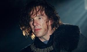 The camera is a close bosom friend … Benedict Cumberbatch as Richard III.