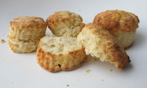 Cheese scones by Penrhyn castle, via Jane Pettigrew's book Traditional Teatime Recipes.