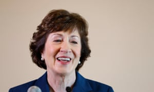 Senator Susan Collins: 'Mitch McConnell is the Senate majority leader. The president needs him.'