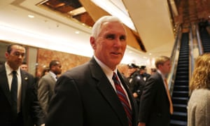 While Trump's views may be harder to pin down, vice-president elect Mike Pence is ardently anti-abortion.