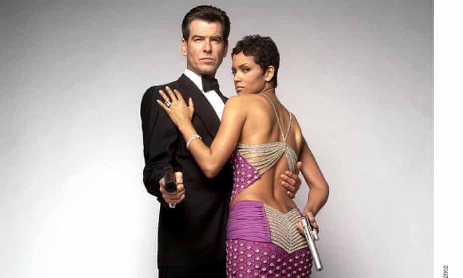 Fresh shoots … Pierce Brosnan and Halle Berry in Bond film Die Another Day, which was partly filmed at the project.