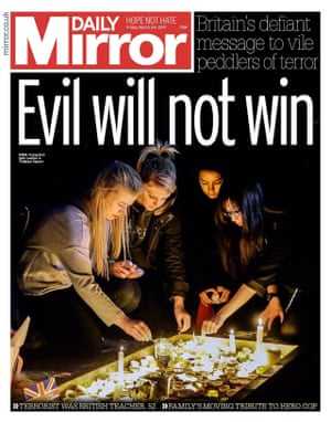 The Daily Mirror, 24 March 2017