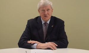 Surrey county council leader, David Hodge