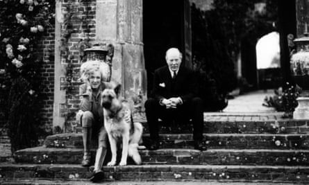 Harold Nicolson, right, at Sissinghurst Castle in Kent with his wife, Vita Sackville-West