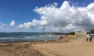 Santa Severa beach