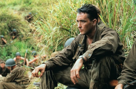 John Cusack in The Thin Red Line