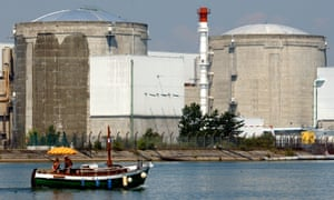 nuclear plant boat Fessenheim France river