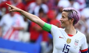 Megan Rapinoe wrote on Instagram: 'So much being done about the protests. So little being done about what we are protesting about. We will not be silenced.'