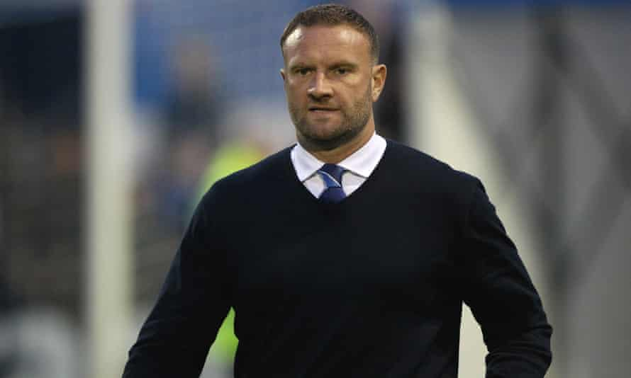 Barrow manager, Ian Evatt