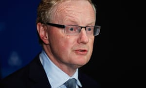 The Reserve Bank governor, Philip Lowe.