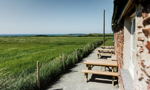 The view from Runwayskiln Cafe, Pembrokeshire, Wales
