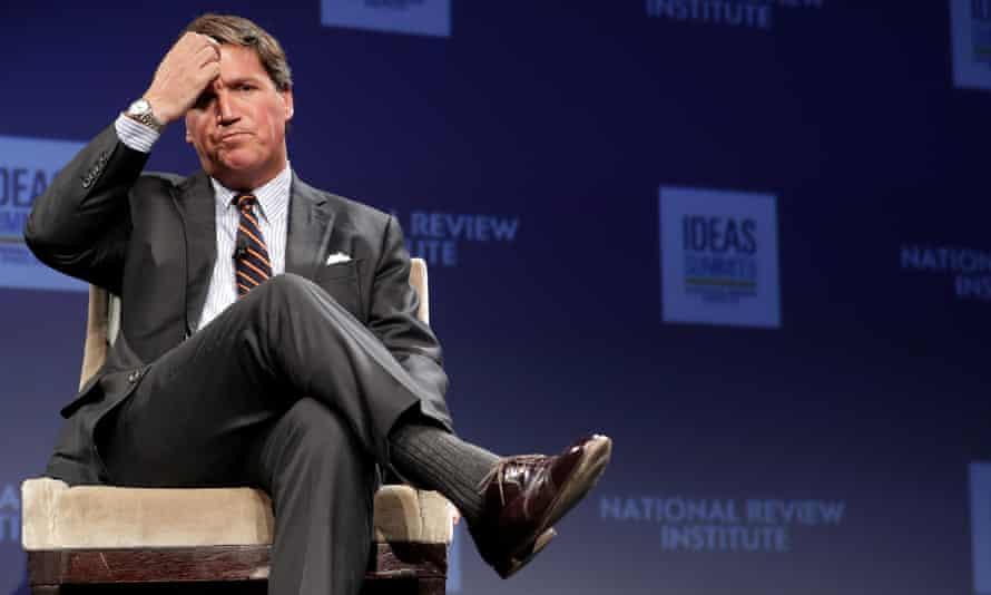 Tucker Carlson in Washington DC on 29 March 2019.