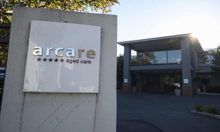 Signage for Arcare aged care facility in Maidstone, Melbourne