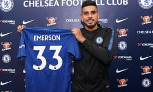 Chelsea's new signing Emerson Palmieri