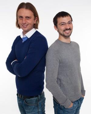 Revolut co-founders Nikolay Storonsky and Vladyslav Yatsenko.