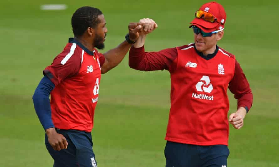 Chris Jordan, Eoin Morgan