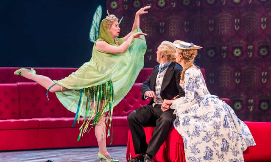 On song … Samantha Price as Iolanthe at the Coliseum.