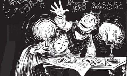 Detail from an illustration from The Thrilling Adventures of Lovelace and Babbage by Sydney Padua.