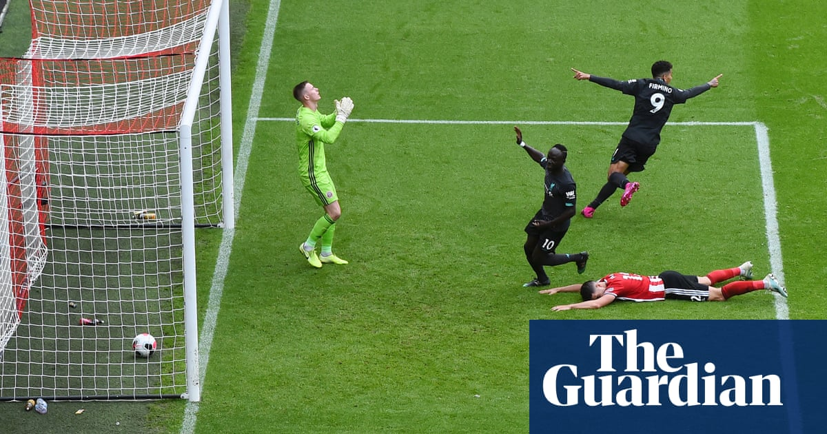 Jürgen Klopp says Liverpool only deserved draw with Sheffield United – video