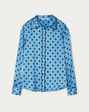 Satin polka dot, £95, uterque.com.